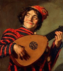 Jester with Lute, Franz Hals